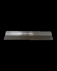 Flächenspachtel 500mm, 0,6mm Blatt, für Stielhalter, rostfrei, Aluminiumrücken